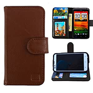 Dooda Genuine Leather Wallet Flip Case For Nokia Lumia 720 (BLACK)