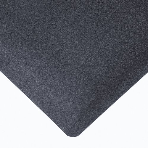 NoTrax Rubber 480 Pebble Trax Anti-Fatigue Mat, for Dry Areas, 3′ Width x 5′ Length x 1/2″ Thickness, Black