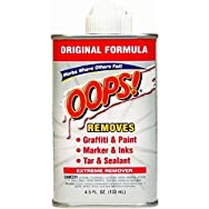OOPS All-Purpose Adhesive Remover And Cleaner-4.5OZ ALL-PURPOS REMOVER