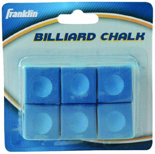 Franklin Sports Billiard Cue Chalk (6 Count)