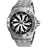 Invicta Men's 25847 Speedway Automatic Chronograph Silver, Black Dial Watch (Color: Stainless Steel)