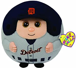 Ty Beanie Ballz MLB Detroit Tigers Large Plush