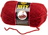 Lion Brand Yarn Company 1-Piece Jiffy Yarn, Chili