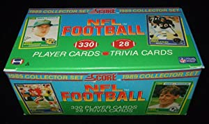 1989 Score Football Complete Mint 330 Card Factory Set. This Set Is Loaded with... by Score