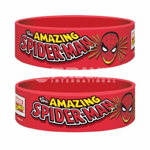 Marvel Comics Rubber Braccialetto Wristband Spider Man Pyramid International