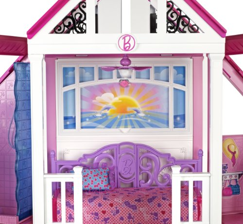 kids toys planet mattel w3141 barbie traumhaus mit. Black Bedroom Furniture Sets. Home Design Ideas