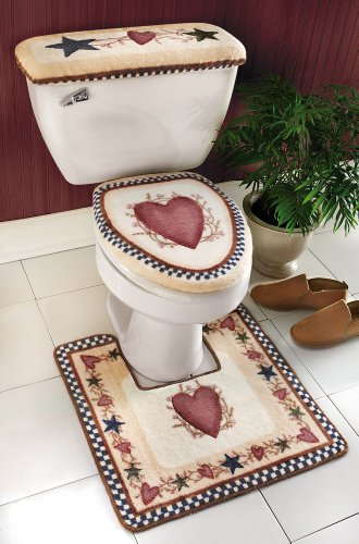 Area Rug Sets Country Star Bathroom Bath Mat And Toilet
