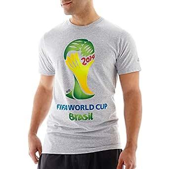 adidas 2014 FIFA World Cup Brazil Official Emblem T-Shirt (2XL)
