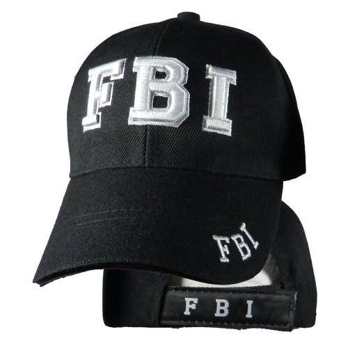 Delux Military Law Enforcement Cap Hat  FBI