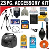 23 PC ULTIMATE SUPER SAVINGS DELUXE DB ROTH ACCESSORY KIT For The Samsung HMX-F80, Q20, QF20, W300 Digital Camera