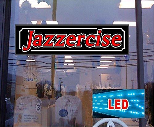 led-powered-light-box-sign-jazzercise-46x12-advertising-window-sign