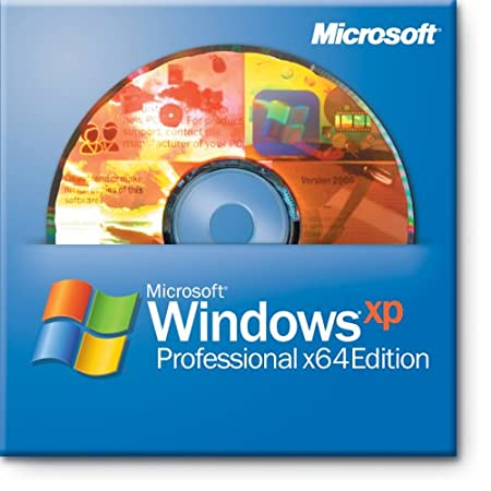 Microsoft OEM Windows XP Professional Edition, 64 Bit, Inc. Service Pack 2 c - 1 Pack