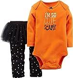Carter's Baby Girls' Halloween Bodysuit & Tutu Pant Set