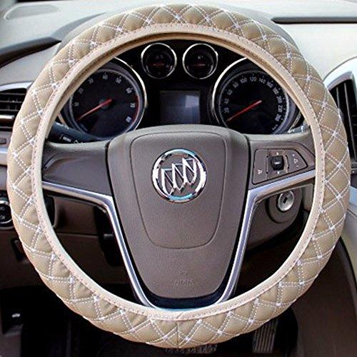 Steering Wheel Cover Beige 15