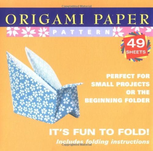 "Origami Paper Pattern 6 3/4"" 49 Sheets (Origami Paper Packs)"