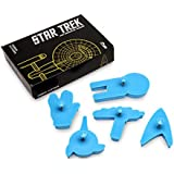[UK-Import]Star Trek Cookie Cutters (5 Pieces)
