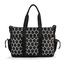Hot Sale Skip Hop Duo Double Deluxe Diaper Bag, Onyx Tile