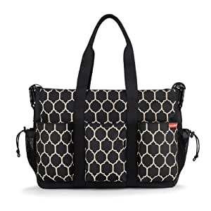 skip hop duo double hold it all diaper bag onyx tile discontinued by manufacturer. Black Bedroom Furniture Sets. Home Design Ideas