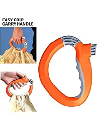 EVALUEMART One Trip Grip Bag Handle Grocery Carrier Holder Carry Multiple Plastic Bags Lock
