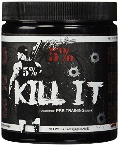 Rich Piana 5% Nutrition KILL IT Pre Workout Booster
