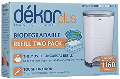 Dekor Diaper Plus Refill Biodegradable