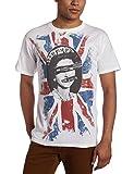 FEA Men's Sex Pistols Short Sleeve T-Shirt,White,Medium