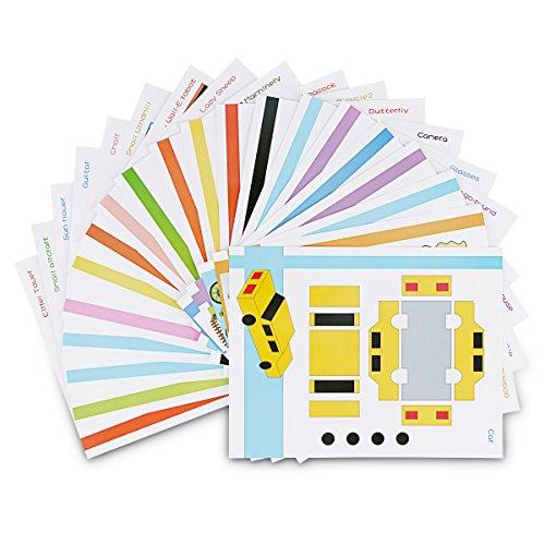 ohcome-20pcs-3d-modelli-di-carta-per-giochi-per-bambini-adulti-in-pratica-di-3d-doodling-pittura-dis