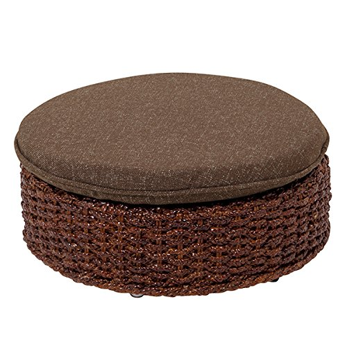 Water hyacinth Bali wind seat chair Brown [Kitchen] (japan import)