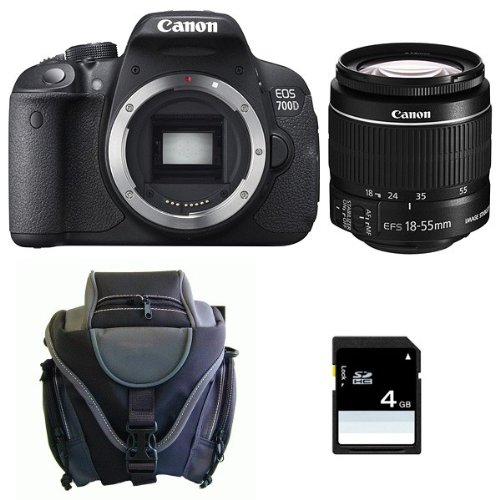 CANON EOS 700D + 18-55 IS + Sac + SD 4Go