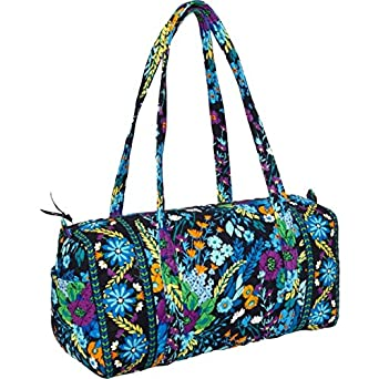 Vera Bradley Small Duffel (Ribbons with Solid Pink Interior)