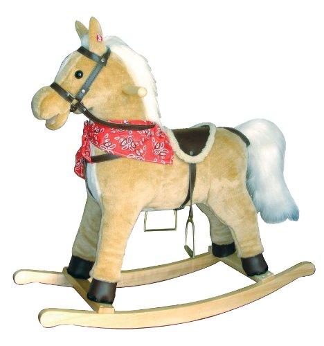 New Classic Toys 1141 - Schaukelpferd, mit Sound,