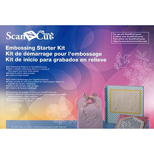 Brother ScanNCut CAEBSKIT1 Embossing Starter Kit (Embossing Starter Kit compare prices)