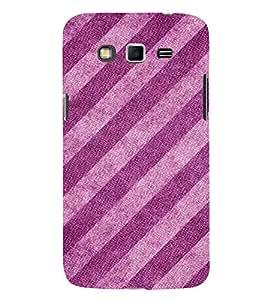 Slant Pattern 3D Hard Polycarbonate Designer Back Case Cover for Samsung Galaxy Grand i9080 :: Samsung Galaxy Grand i9082