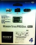 Sony 4GB Memory Stick PRO Duo Retail + Pro Duo Card Reader
