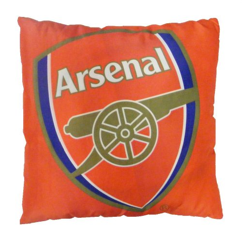Character World Arsenal Crest Printed Polyester Cushion