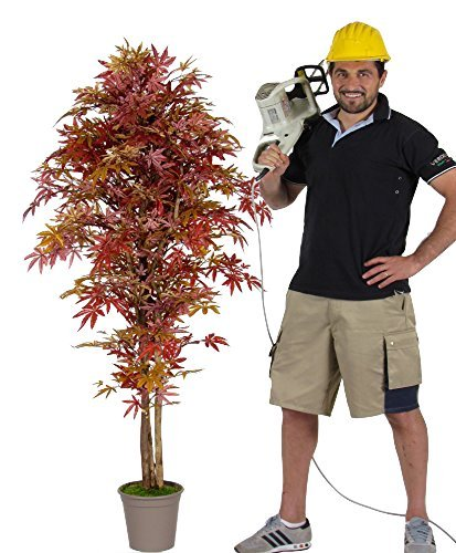 acero-artificiale-rosso-h100-cm-tronchi-veri-con-vaso