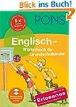 PONS Grundschulw�rterbuch Englisch: D...