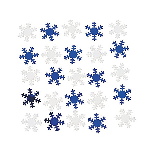 Snowflake Confetti - Christmas Decoration