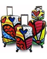 Heys USA Luggage Britto New Day Hard Side 4 Piece Luggage Set