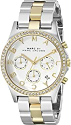 Marc by Marc Jacobs Women's MBM3197 Henry Two-Tone Stainless Steel Watch with Link Bracelet