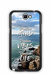 YuBingo Positive Mind Designer Mobile Case Back Cover for Samsung Galaxy Note 2