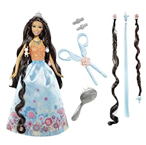 Barbie Cut N Style Nikki Princess Doll