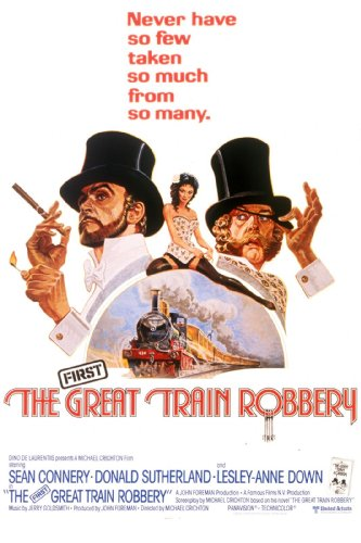 Amazon Com The Great Train Robbery Sean Connery Donald