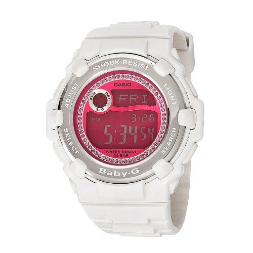 casio s baby g bg3000m 7 shock resistant white and