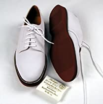 bf2527aa8c2 Men s Classic White Buck Tie Shoe Review - My Pat Boone Shoes ...