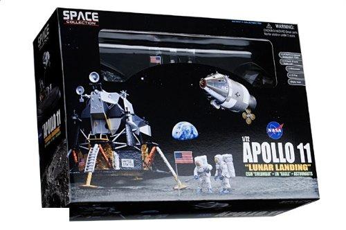 """1:72 ドラゴンモデルズ エアロスペース プログラム 50381 ダイキャスト モデル NASA アポロ 11 """"Columbia"""" + """"Eagle"""" 月 Landing 7月 20th 1969"""