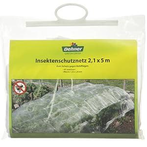 Dehner insektenschutznetz ca 5 x 2 1 m garten for Insektenschutznetz garten