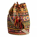 #10: The House of tara Women's Sling Bag (Multi-Color)