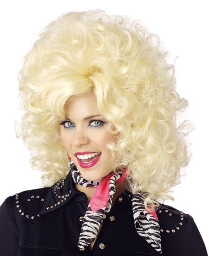 California Costumes Women's Country Western Diva Wig, Blonde, One Size