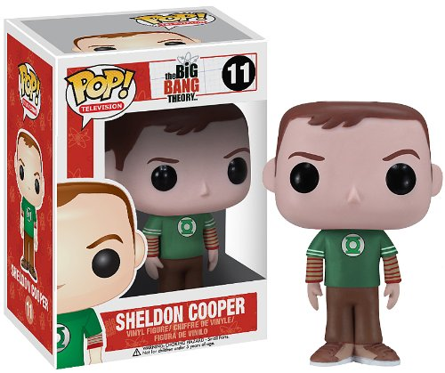 Funko POP Television: Sheldon Cooper Green Lantern Vinyl Figure